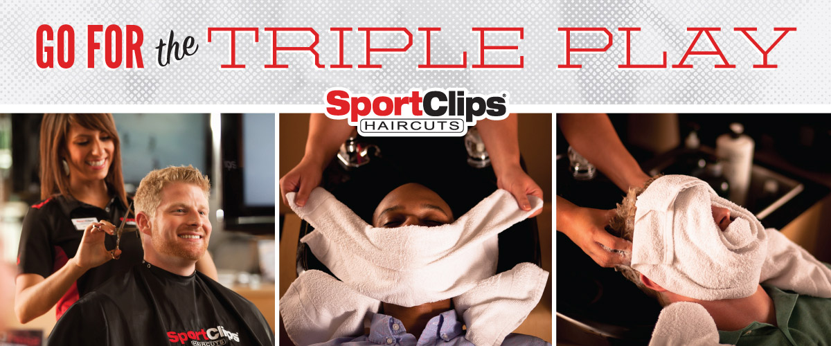 The Sport Clips Haircuts of Schertz Triple Play